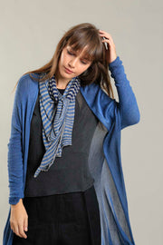 Jean Blue Long Bamboo Cardigan