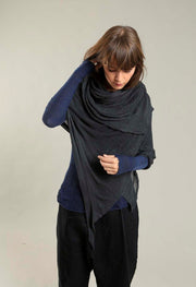 Big Soy Air Scarf - Charcoal