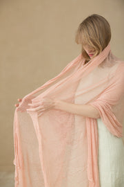 Big Bamboo Air Shawl - light pink