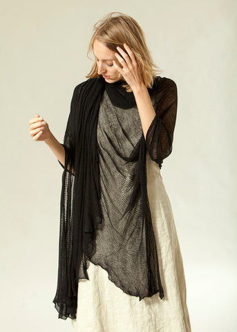 Big Bamboo Air Shawl - Black