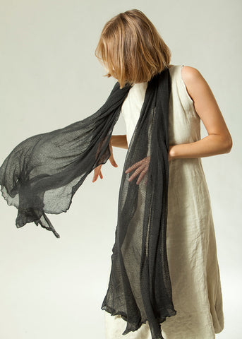 Big Bamboo Air Shawl - Charcoal