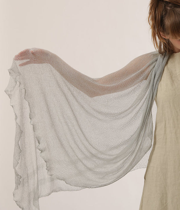 Big Bamboo Air Shawl - light Gray