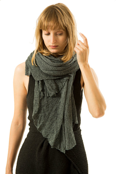Big Soy Air Scarf - Smoked Blue Grey