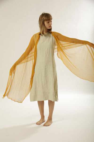 Air Bamboo Scarf - Yellow Mustard