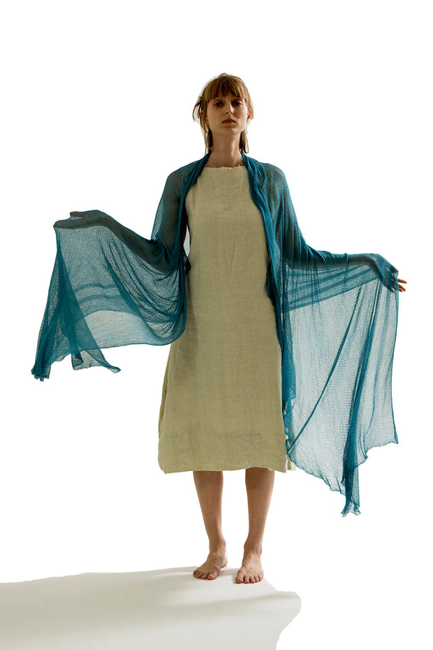 Big Bamboo Air Shawl - Teal, Turquoise