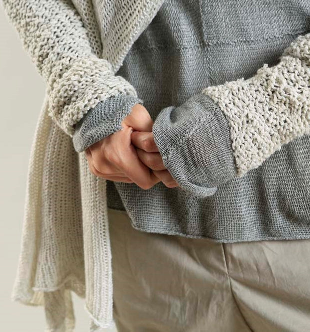 Broken White Chunky Sweater