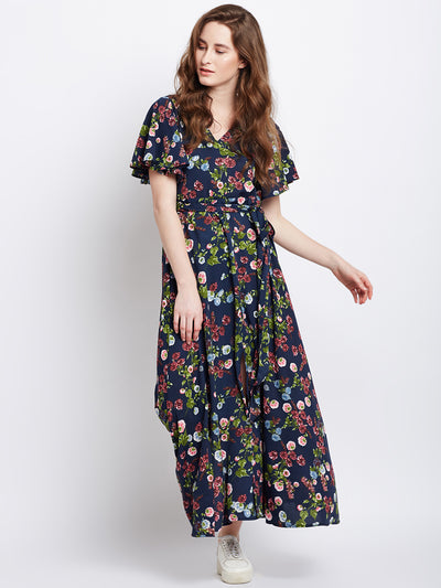 Dark blue maxi dress - Berrylush