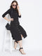 Berrylush Women Black Solid Shirt Dress