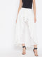 Berrylush White Ruffled Maxi Skirt