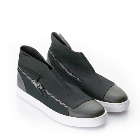Mihaela Glavan, ZIPPER ROAD Sneakers SNK099A . 308