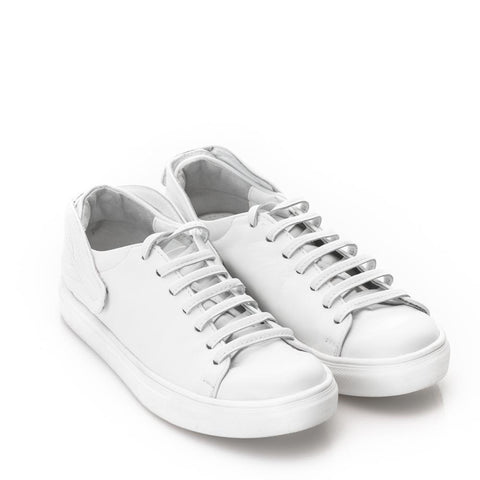 Mihaela Glavan, White LEAVES REUNION Sneakers Snk099A . 313