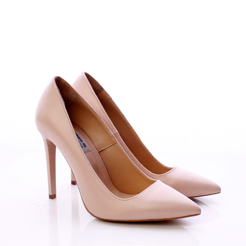 Mihaela Glavan, Nude Leather SIMPLICITY Pumps P580 . 71