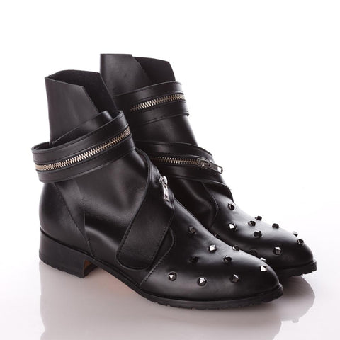 Mihaela Glavan, BEADS AND THOUGHTS Ankle Boots B457 . 214