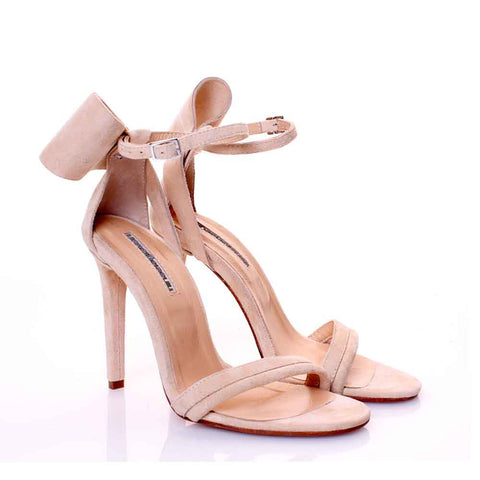 Mihaela Glavan, Nude BACK TO BOW Sandals S186 . 137