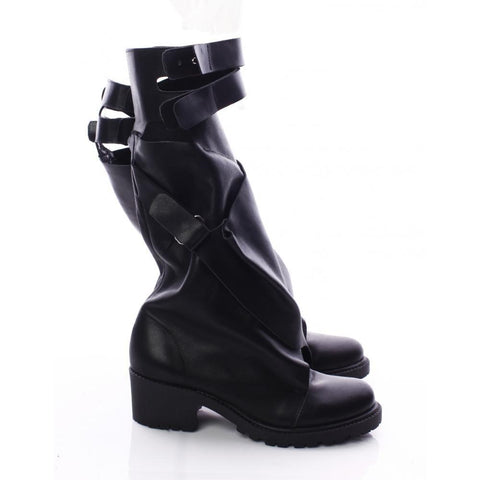 Mihaela Glavan, DOUBLE FOLD AND STRAPS Boots B740 . 273