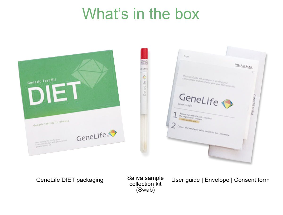 genelife diet dna test
