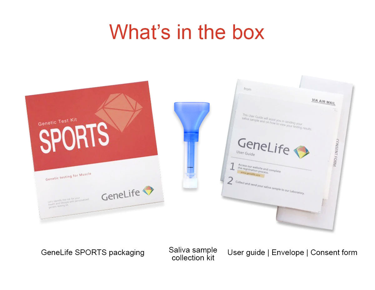 genelife sports dna test