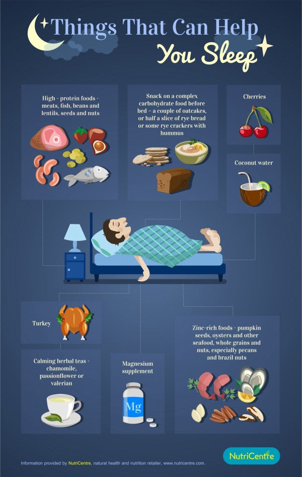 Tired All The Time Eating These Foods Could Help You Sleep Better