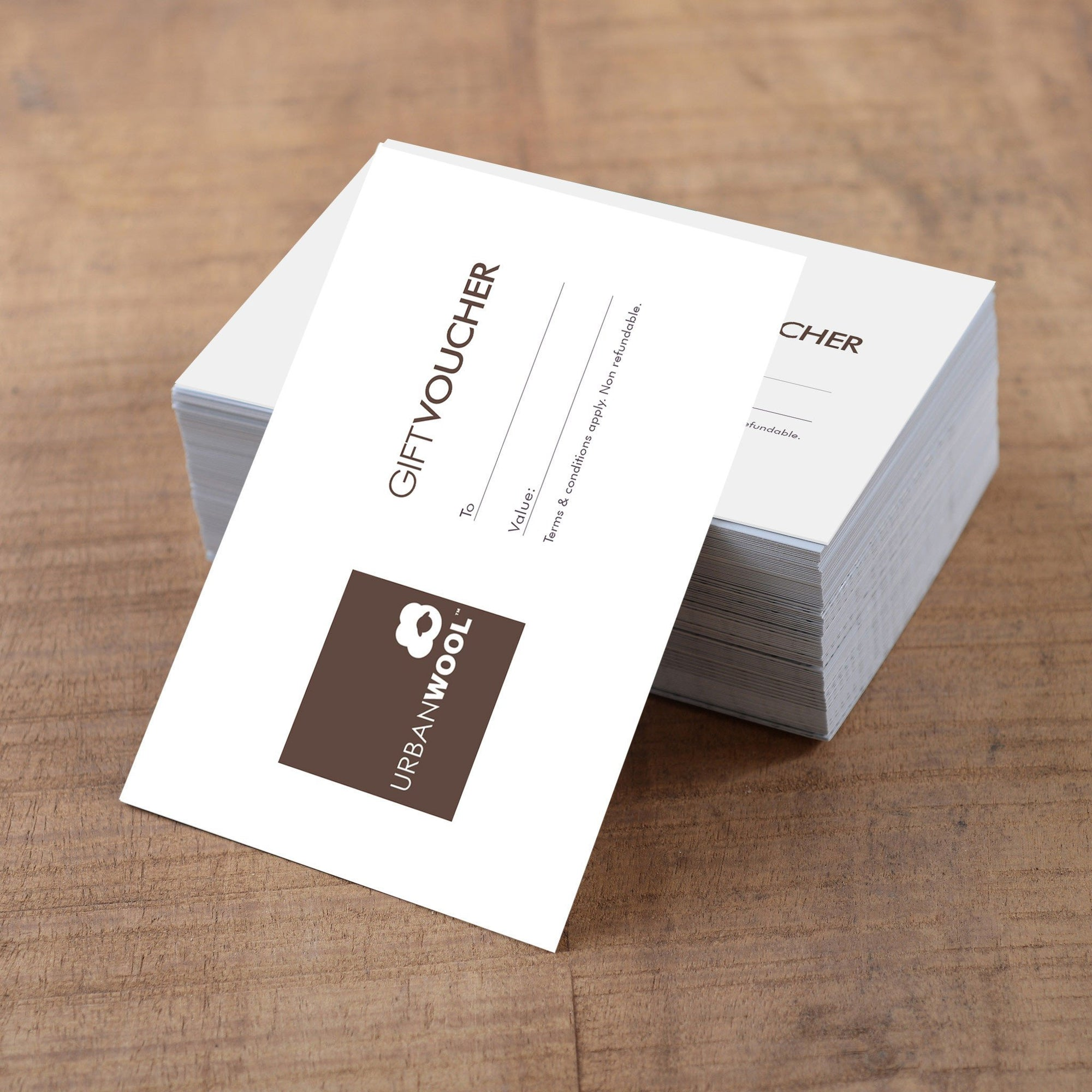 Gift vouchers - Urban Wool