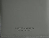 Bottega Veneta Long Wallet Gray Leather - Bv Logo