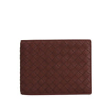 Bottega Veneta Bifold Wallet Red Leather