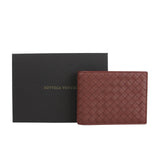 Bottega Veneta Bifold Wallet Brick Red Color For Men