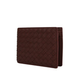 Bottega Veneta Bifold Wallet Brick Red - Front Look