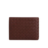 Bottega Veneta Bifold Wallet Red Color - Front Look