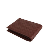 Bottega Veneta Bifold Wallet Red - Horizontal Look