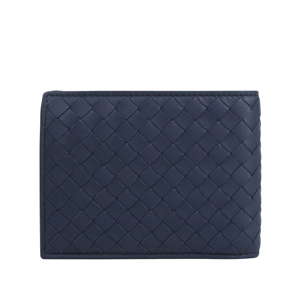 Bottega Veneta Bifold Wallet Blue - Intercciaco Style