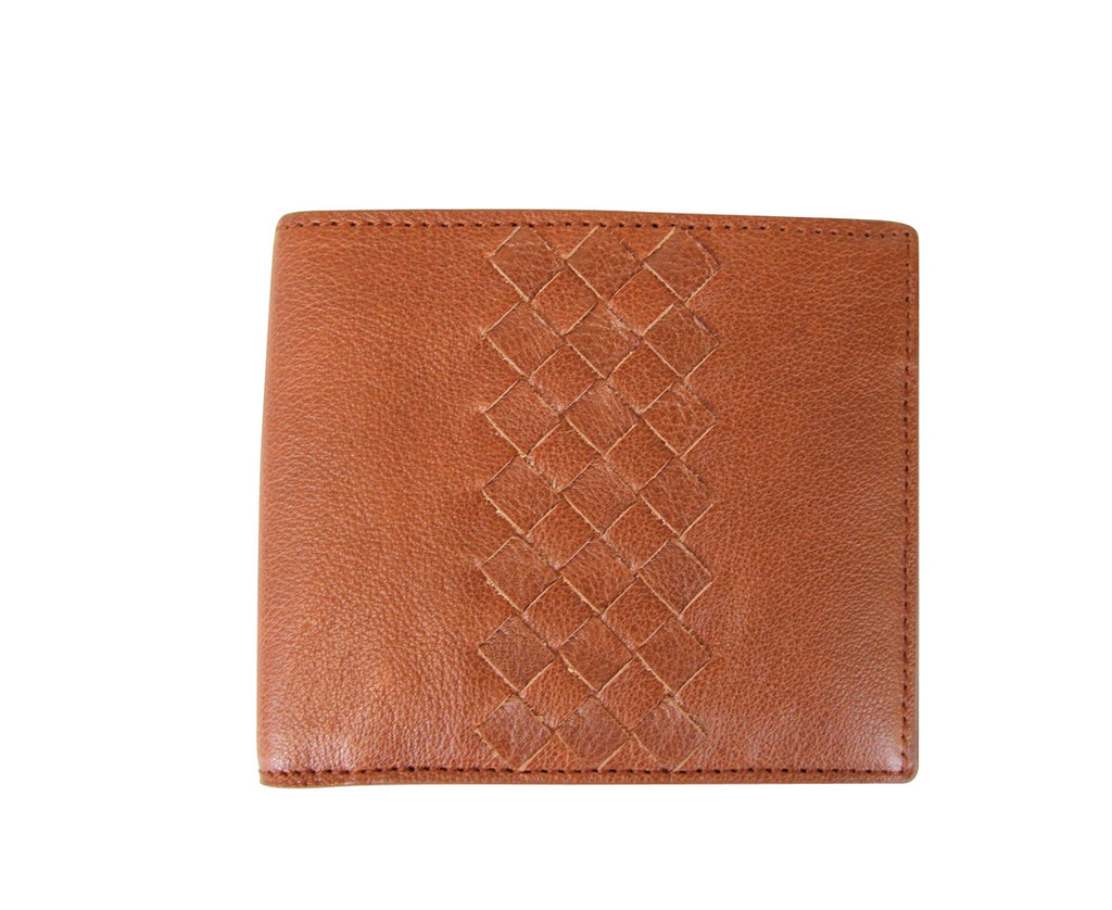 Bottega Veneta Men's Bifold Wallet Brown Color