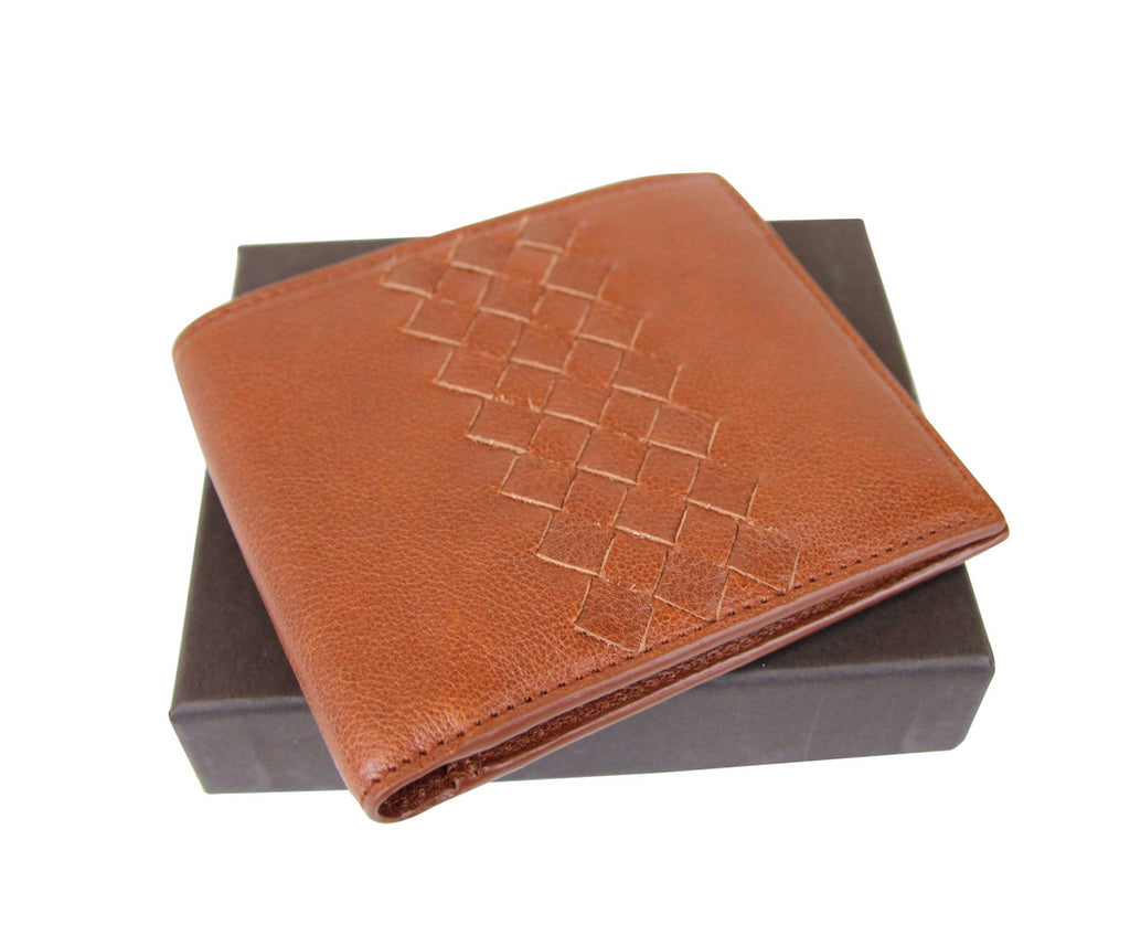 Bottega Veneta Men's Bifold Wallet - Front Look