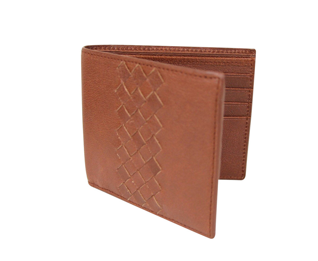 Bottega Veneta Men's Bifold Wallet - Side Look