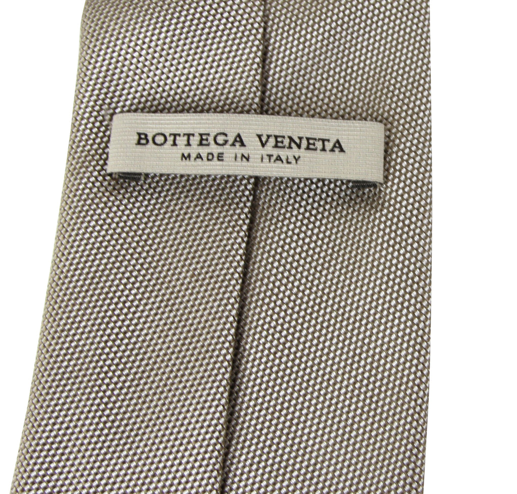 Bottega Veneta Tie Woven Silk For Men - Made In Italy