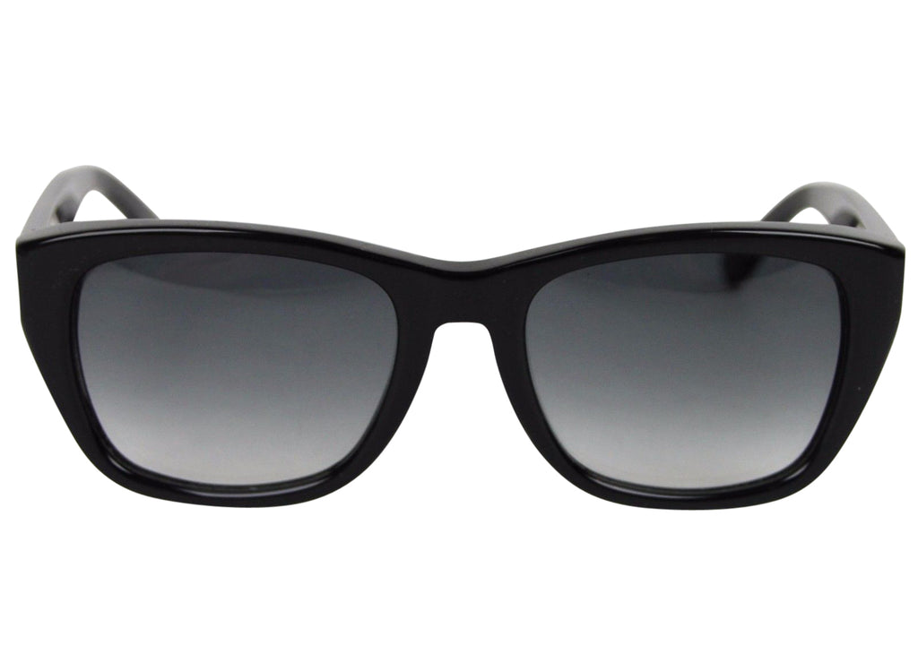 Bottega Veneta Women's Black Acetate Square Sunglasses With Box 267036 1006 - LUX LAIR