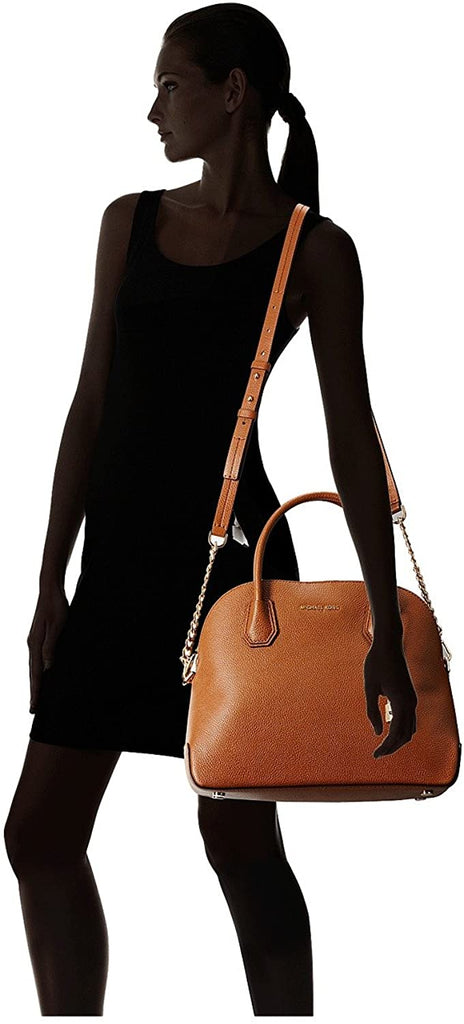 Michael Kors Mercer Large Dome Satchel Bag - Mk Satchel