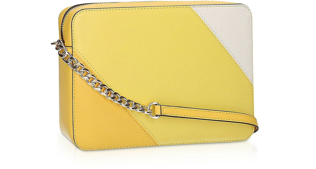 Michael Kors Crossbody Bag Large Yellow East West - Back
