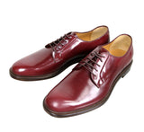 Gucci Lace-up Wine Red Leather Oxford 295618 6083