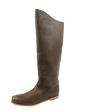 Bottega Veneta Women's Brown Leather Tall Boots 297865 2515