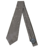 Bottega Veneta Tie Grey / Metallic Silk - 2.85