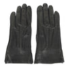 Bottega Venega Women's Black Leather Long Gloves 299241 1000