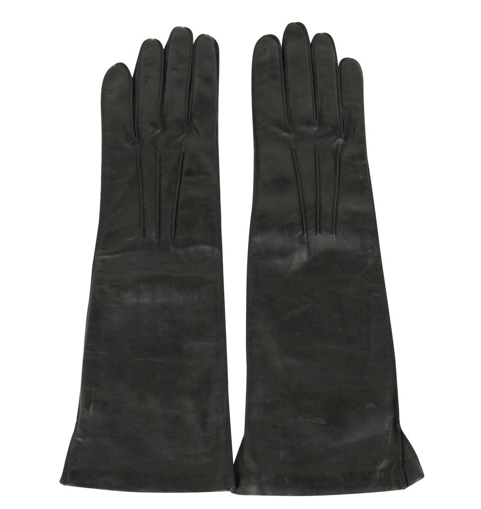 Bottega Veneta Long Gloves Black - Authentic Gloves