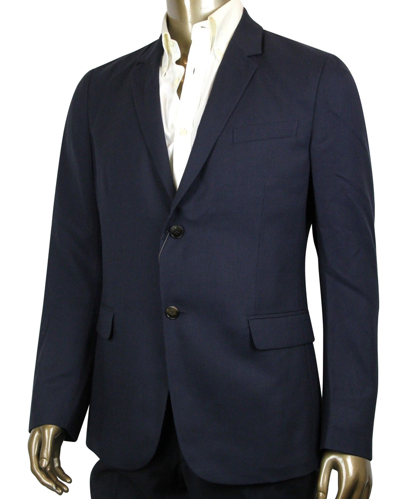 Gucci Men's Panama Blue Wool Gauze Formal 2 Buttons Jacket 339461 4440 (G 54 R / US 44 R)