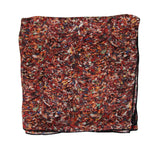 Bottega Veneta Women's Stained Glass Patterned Multicolor Silk Large Scarf 339634 6276 - LUX LAIR