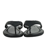 Gucci Guccisisma Pattern Black Leather / Rubber Sandals 353765 1000 - LUX LAIR