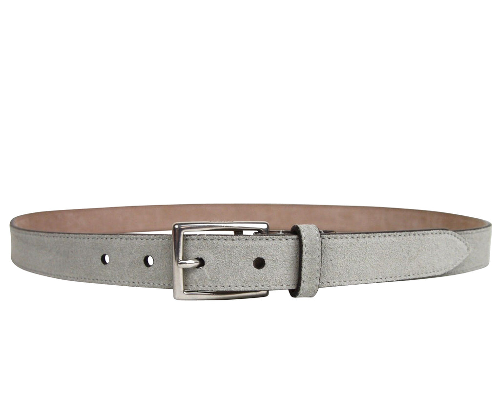 Gucci Men's Silver Light Gray Fabric Leather Belt Buckle 368193 1417
