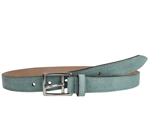 69c83588d Gucci. Gucci Men's Silver Teal Fabric Leather Belt Buckle ...