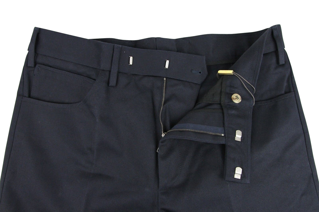 Gucci Men's Military Blue Cotton Drill Pant 406453