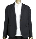 Gucci Men's Formal 1 Button Charcoal Wool / Mohair Evening Jacket 406543 1165