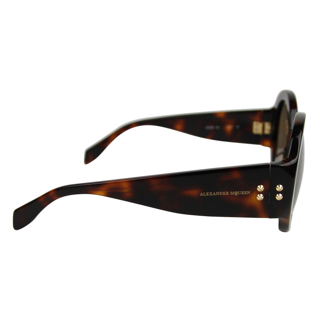 Alexander McQueen Sunglasses Unisex - Rounded Style